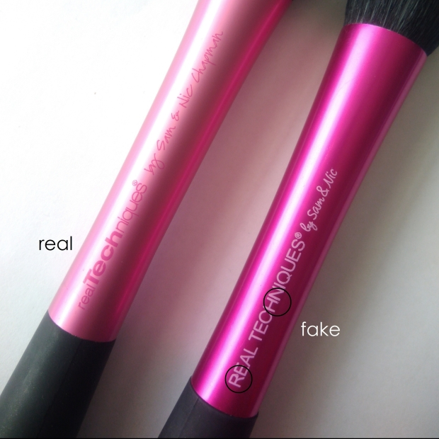 real vs fake real techniques stippling brush